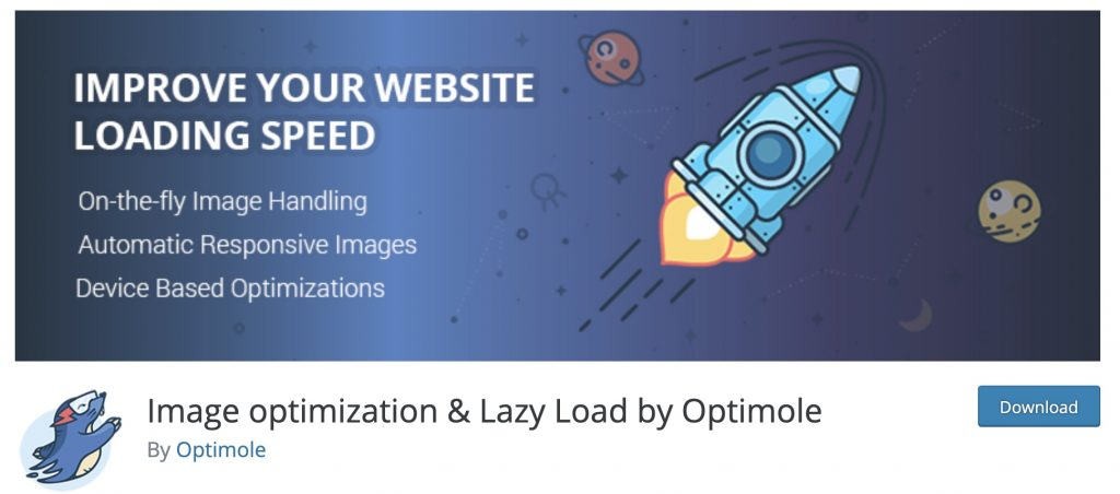 Optimole is a popular image compression and optimization plugin, made by the same people behind ThemeIsle.