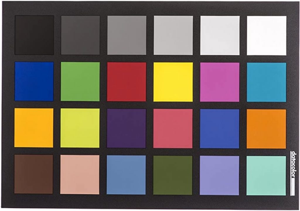 Datacolor Color Correction and Calibration Card