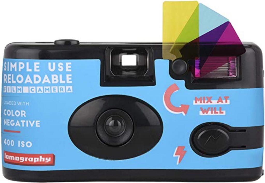 Lomography's reloadable film camera