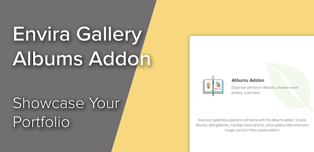 How to Showcase Your Products, Portfolio, or Services with Envira Gallery's Albums Addon