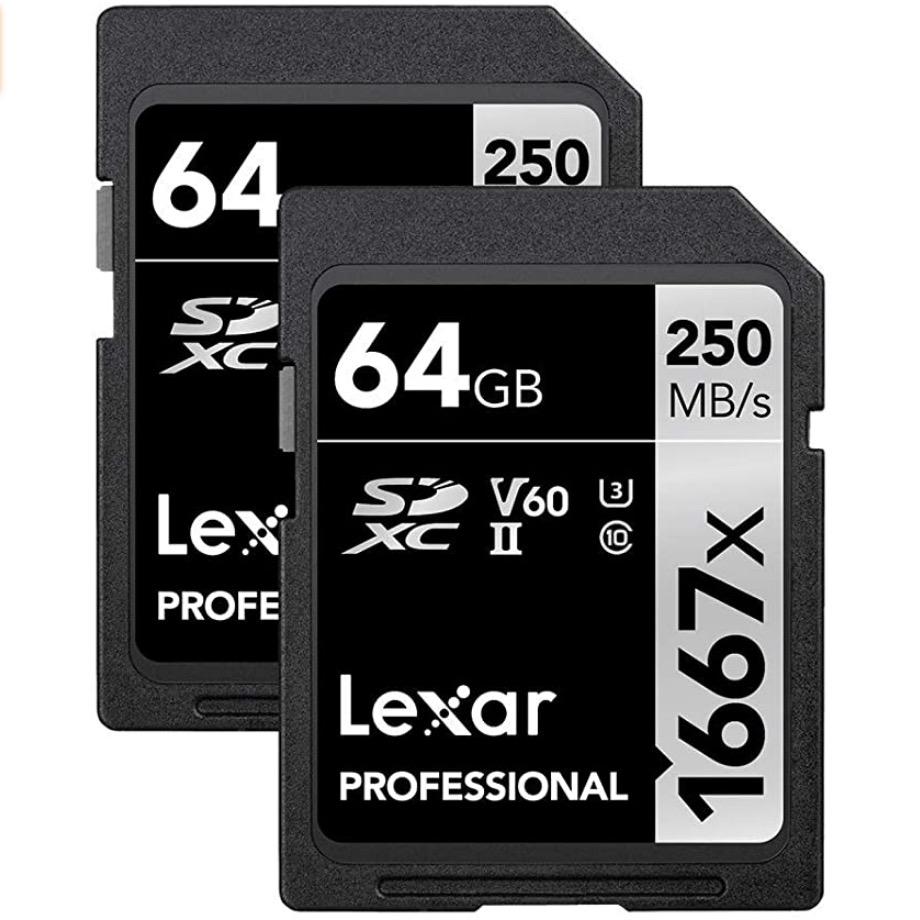 UHS-II Lexar Professional SD Card