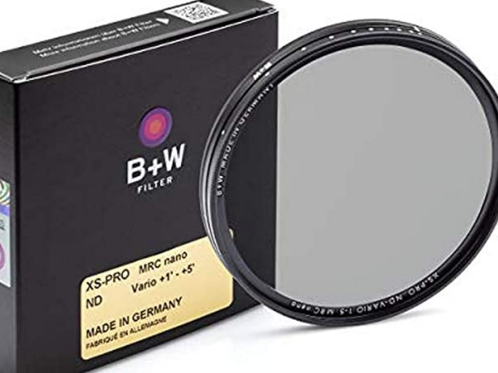 B+W Variable ND Filter