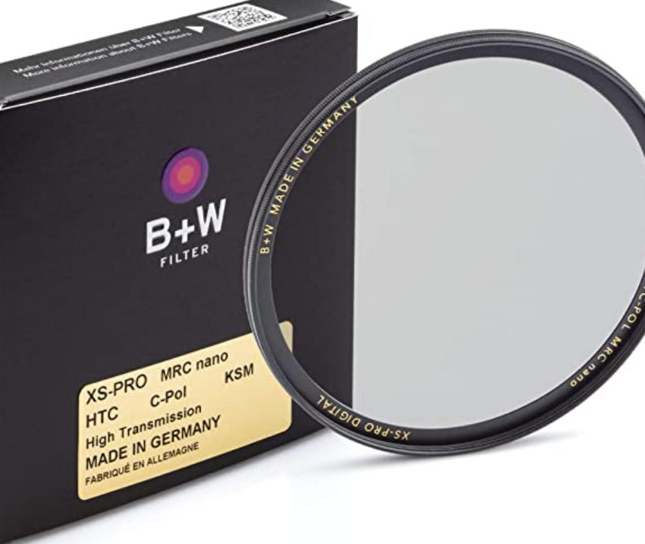 B+W Polarizing Filter