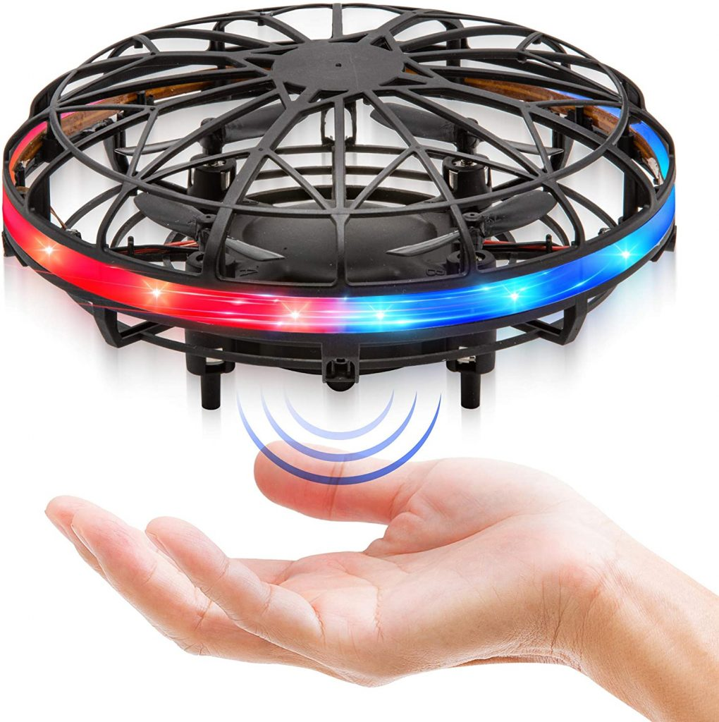 Force1 Scoot LED Hand-Operated Drone